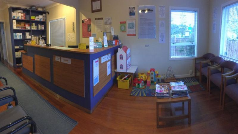 Howick Health and Medical Centre reception